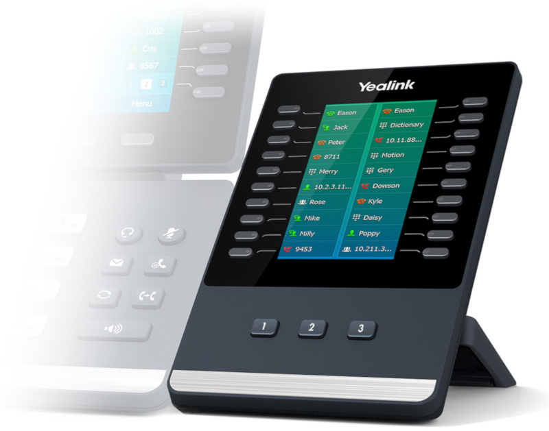 Yealink Color-Screen Expansion Module