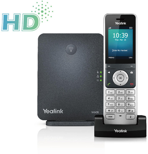 Yealink W60P Prime Wireless DECT IP Phone